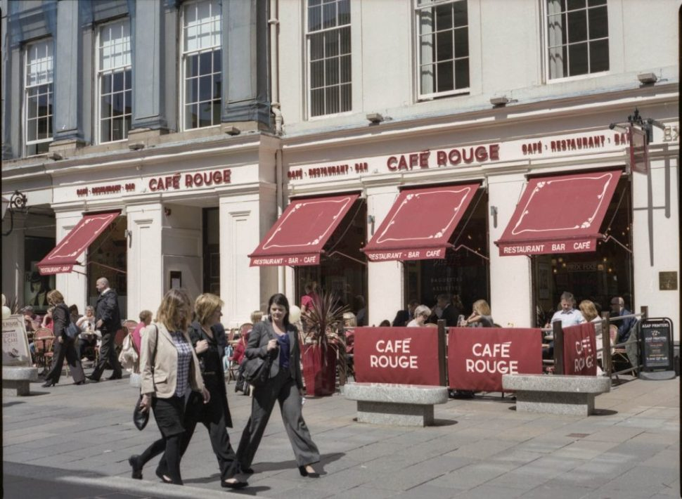 Café Rouge, Royal Exchange Square