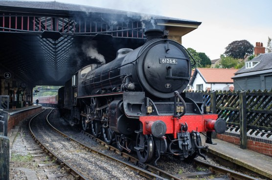 B17 Steam Locomotive, 61624, Pickering