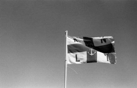RNLI Flag, Saltburn-by-the-Sea