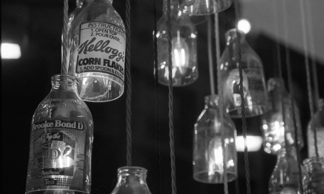 Hanging Milk Bottles #1