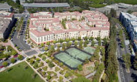 Aerial Architecture Photography of Silicon Valley Lifestyle Community