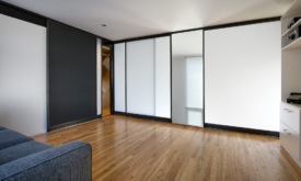 Architecture Photography of Modular Walls