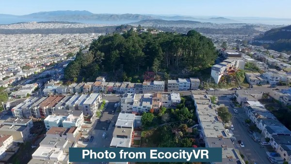 aerial sample from ecocity vr 360 video