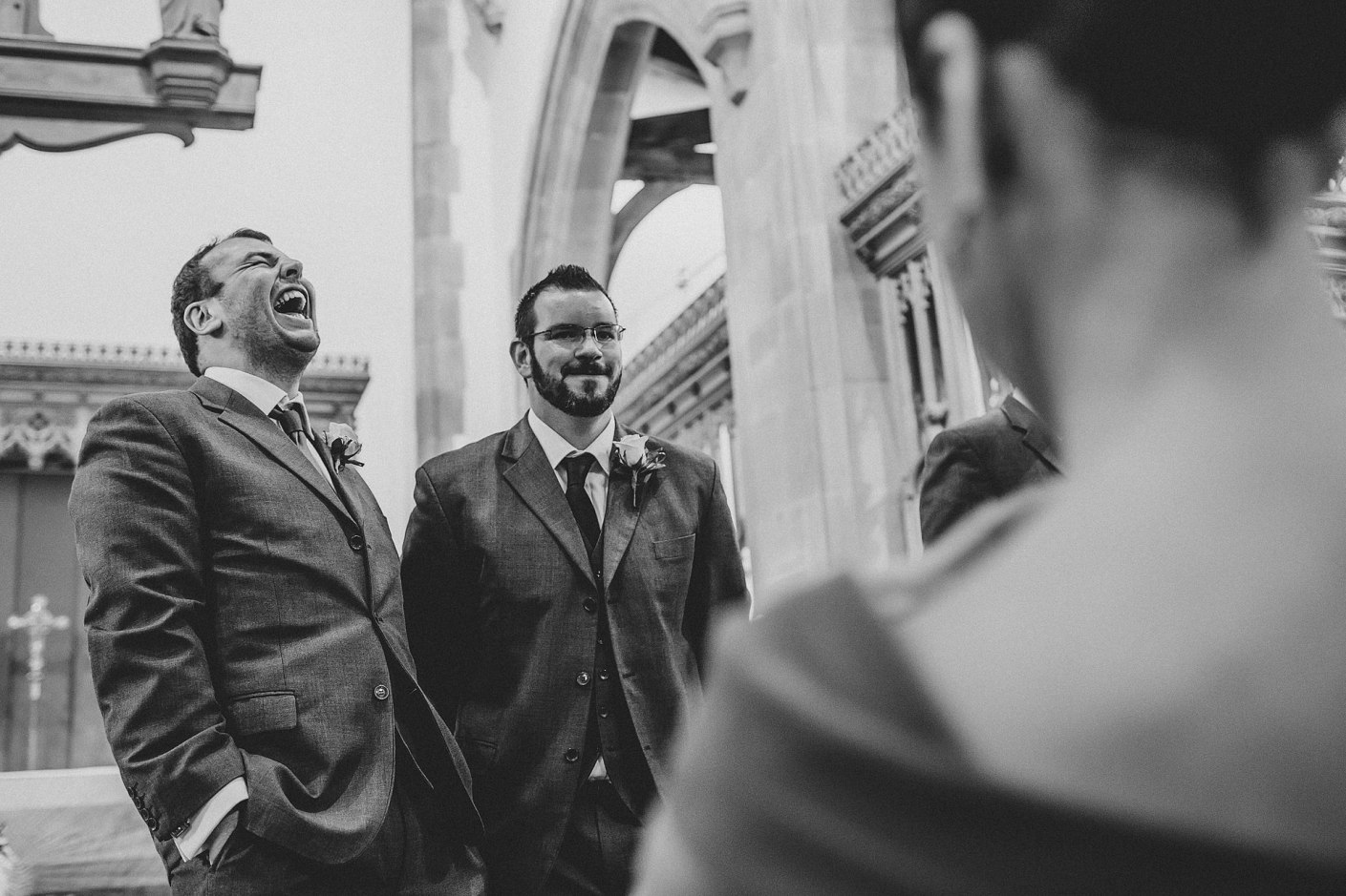 laughing in st nicholas' church liverpool