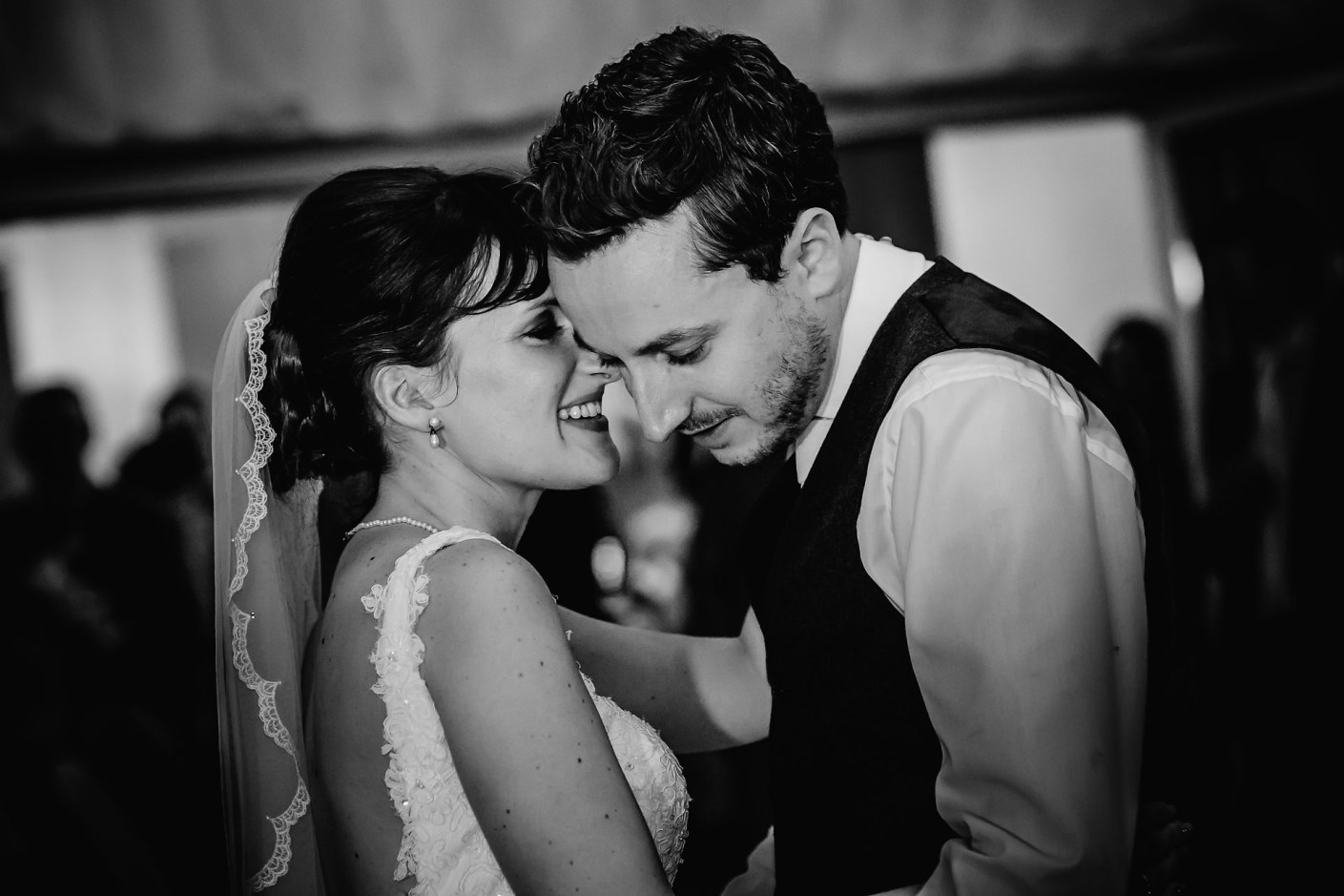 intimate first dance photograph