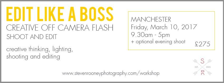 off camera flash workshop