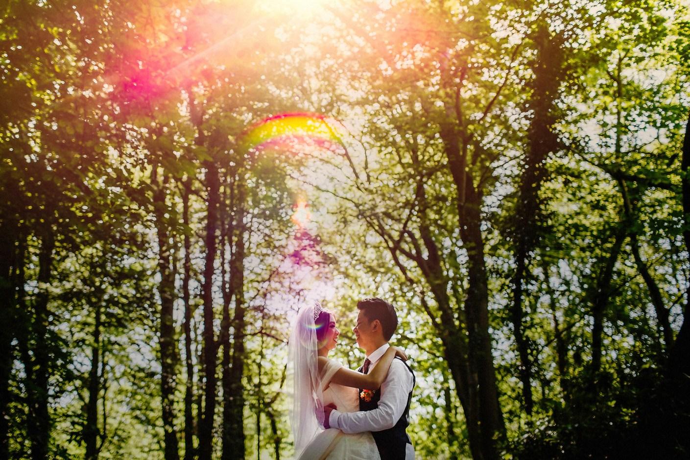 bride and groom portrait photographer