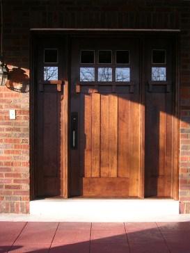 Ward Front Entry door