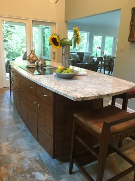 Elliptical Kitchen Island