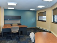 Executive Director, Charlie Oakes' new office