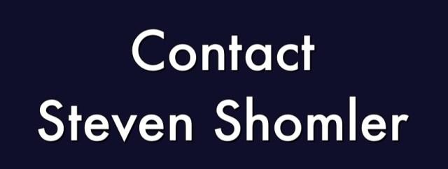 Contact Steven Shomler