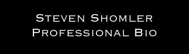 Coffee With Steven Steven Shomler
