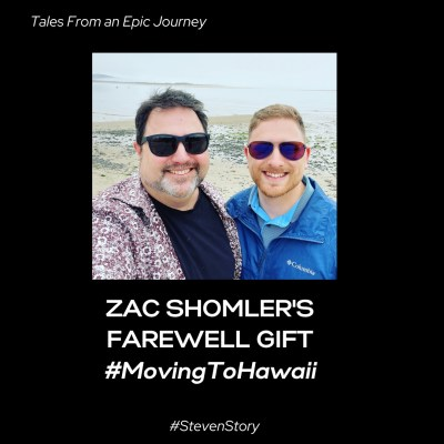 Zac Shomler's Farewell Gift – Moving to Hawaii!