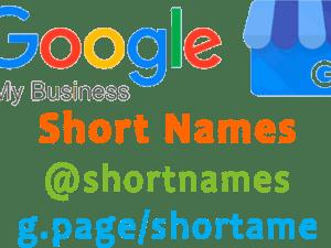 GMB Shortnames