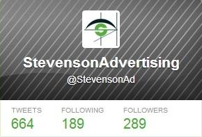 Stevenson Twitter Account