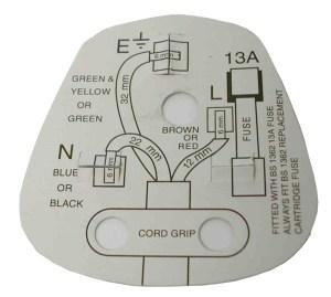 13A Plug Top   BS1363 13 Amp   Stevenson Plumbing