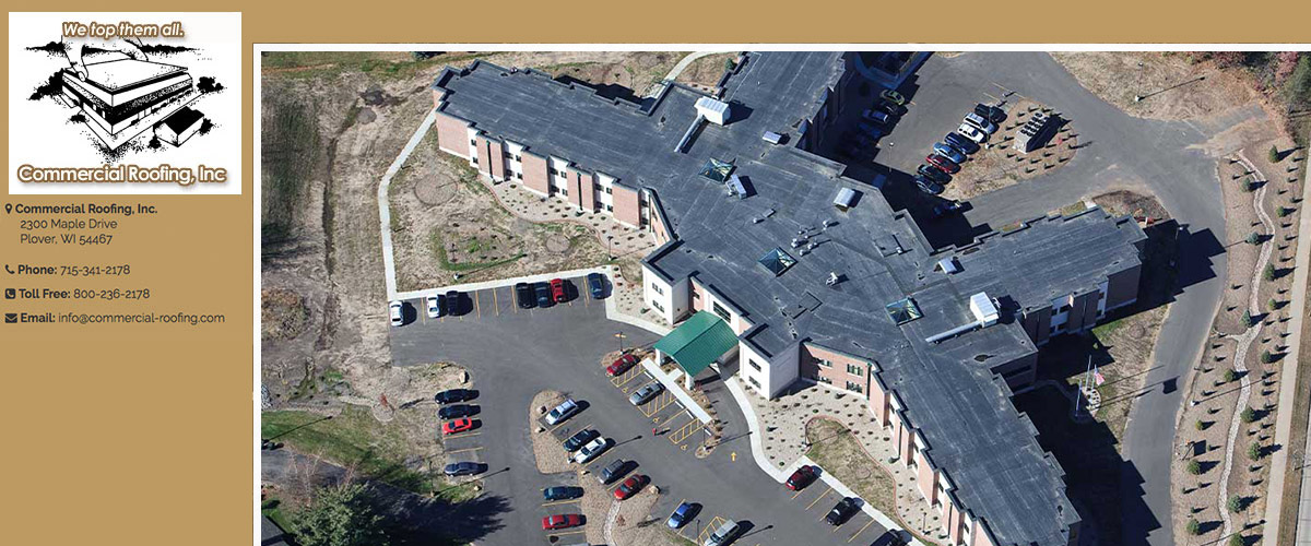 Commercial Roofing in Wausau, WI