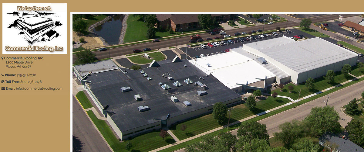 Commercial Roofing Maintenance in Stevens Point, WI
