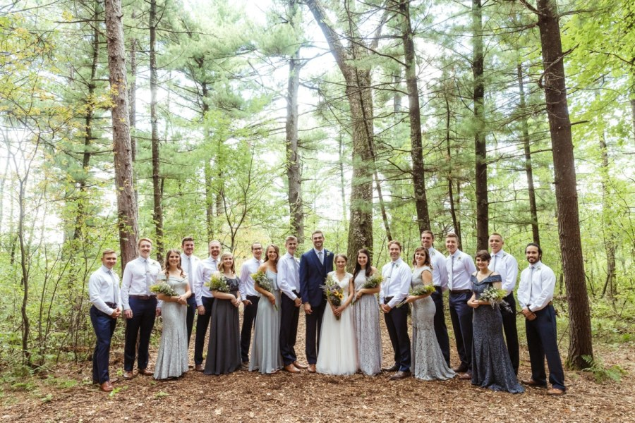Plover, Wisconsin Wedding @ Distinctly Yours Wedding & Events