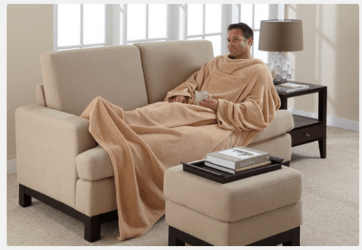 Heated Wearable Blanket - Sharper Image