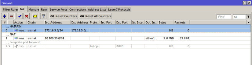 MikroTik Hairpin NAT With Dynamic WAN IP Tutorial Update
