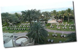 The view from our balcony (Room 230)