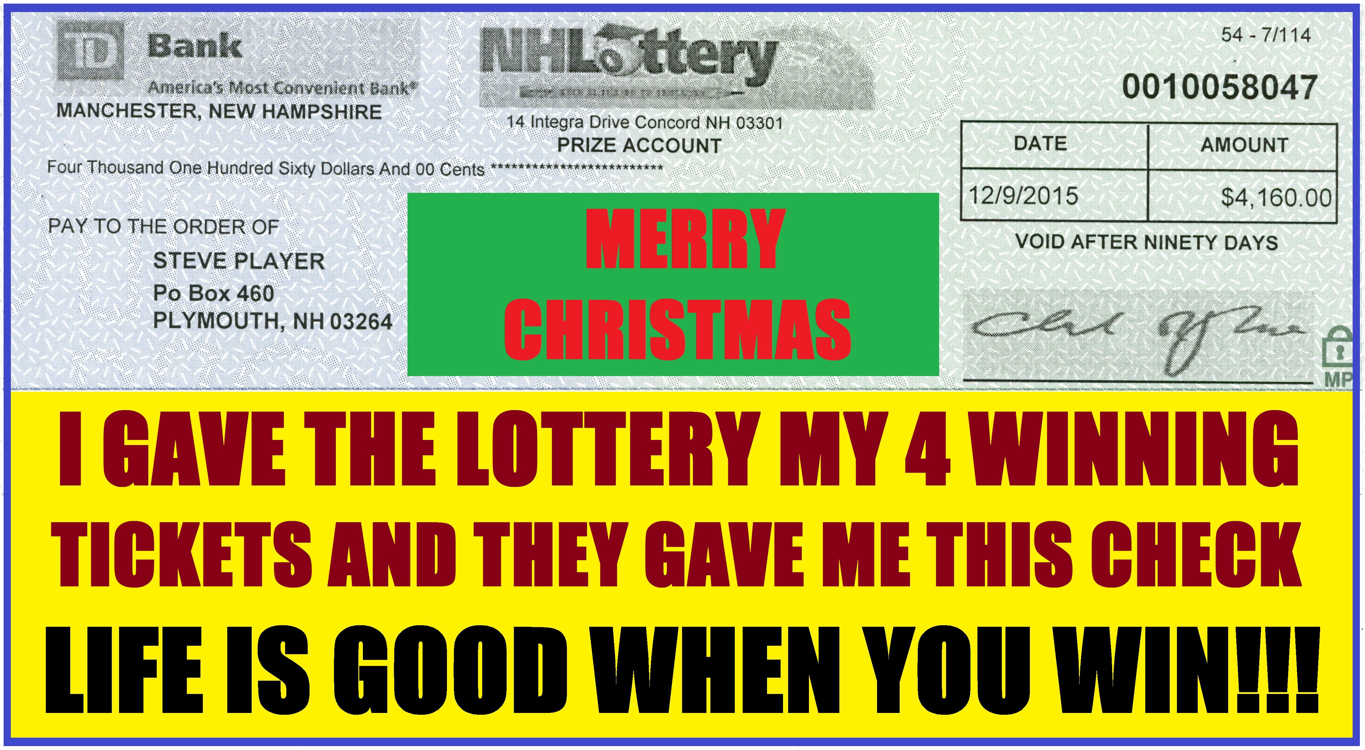 Facebook Lottery Winners 2016