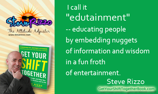 "Huffington Post:  My take on ""edutainment"" with BJ Gallagher"