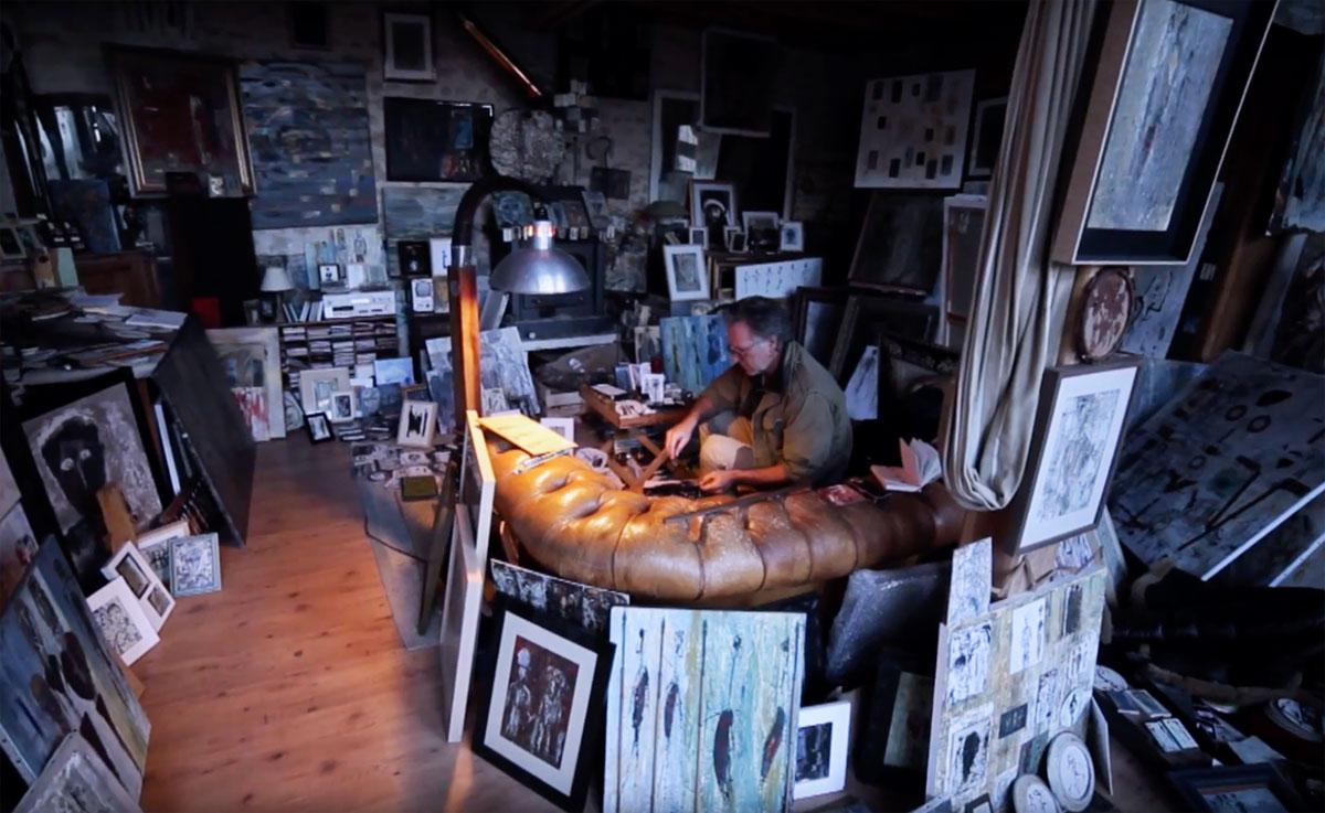Steve Shehan - studio - paintings - peintures