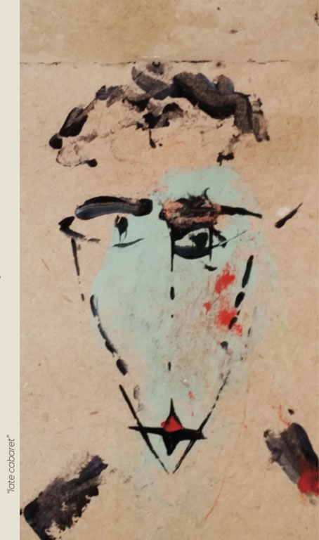 """Late cabaret"" - Peinture - Painting - Visa Mundi - Steve Shehan"