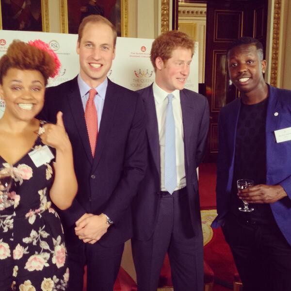 Prince William listens to Dirty Vegas