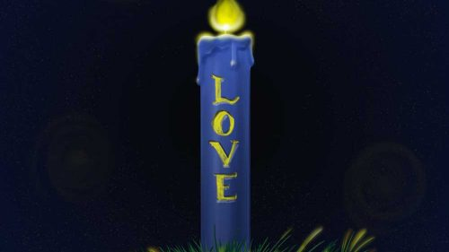 Advent-2-Love-Candle