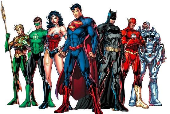 The Justice League DC Comics