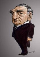Carson-Caricature-Downton-Abbey