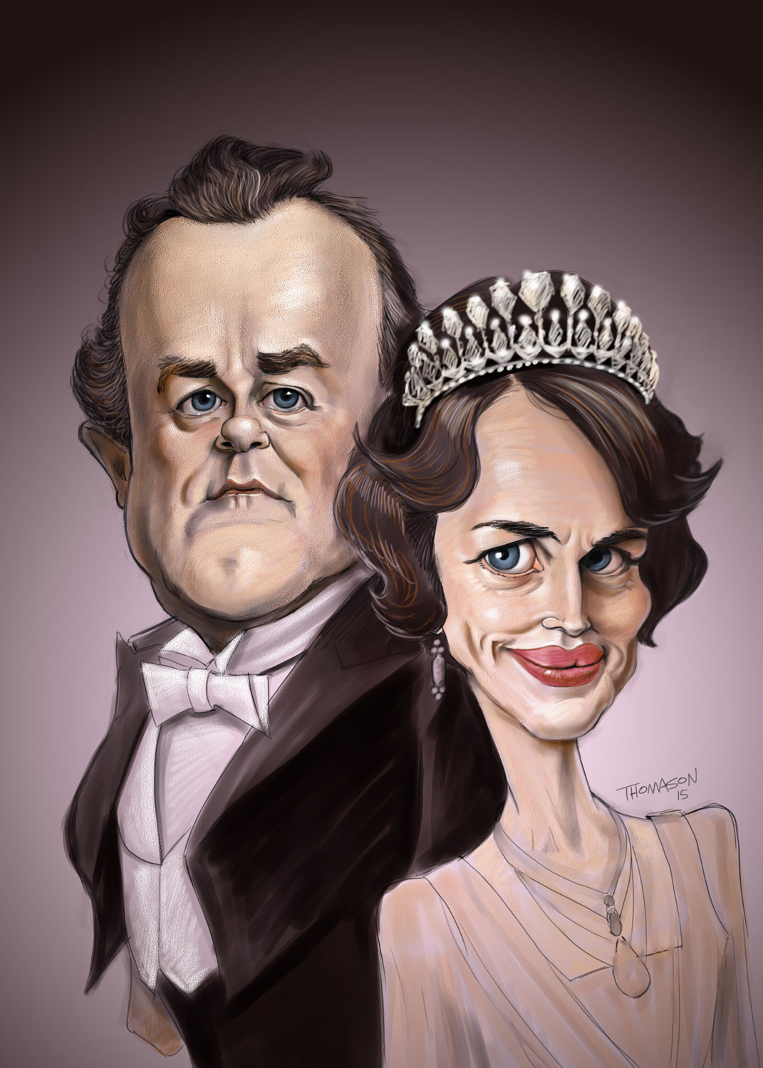 lord and lady grantham downton abbey