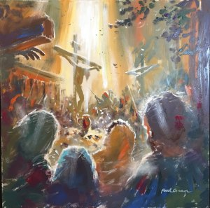 This is the image Paul created for John 19.