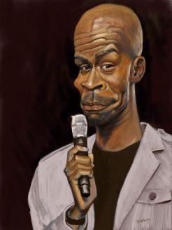 Michael Jr. Caricature