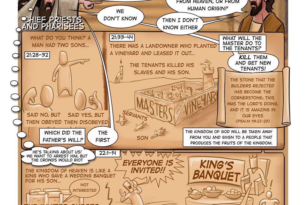 Jesus Speaks Truth to Power   A Sermon on Matthew 22:1-14