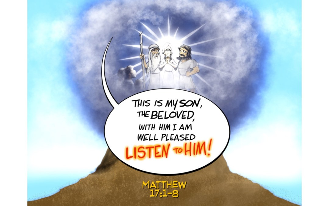 Post Mountain Top Syndrome | A Sermon for Transfiguration Sunday from Matthew 17:1-8