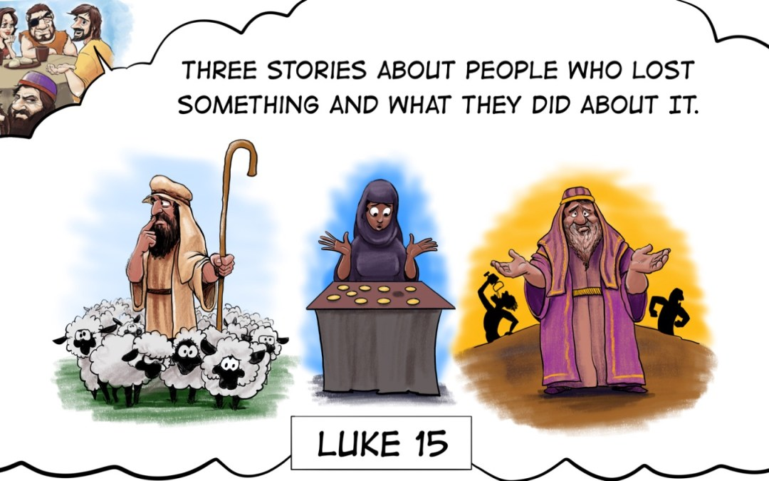 A Cartoonist's Guide to Luke 15 | Parables of Lost and Found