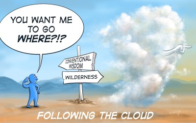 """Why My Blog Is Titled """"Following the Cloud"""""""
