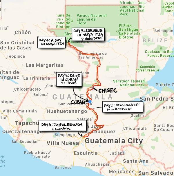 Guatemala Day 6: Joyful Reunion