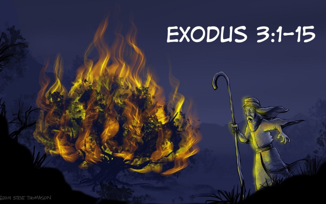 From Abraham to Moses | A Cartoonist's Guide to Exodus 3:1-15
