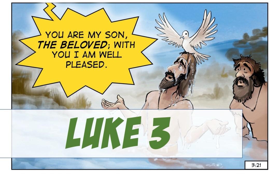 A Visual Meditation on Luke 3:1-21