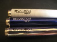 Revolution Vapor e-cigarette starter kit review battery choice image