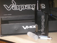 Vapage V-MOD e-cigarette review from SKVW electronic cigarette reviews starter kit image