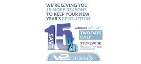 v2cigs short sale