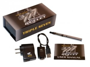 new ecig products 777 bullet kit