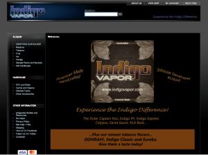 Indigo Vapor Screenshot
