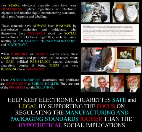 ecig safety graphic